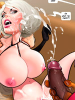 Enslaved cartoon alladdin licking jasmine's tits in an awesome porn toon